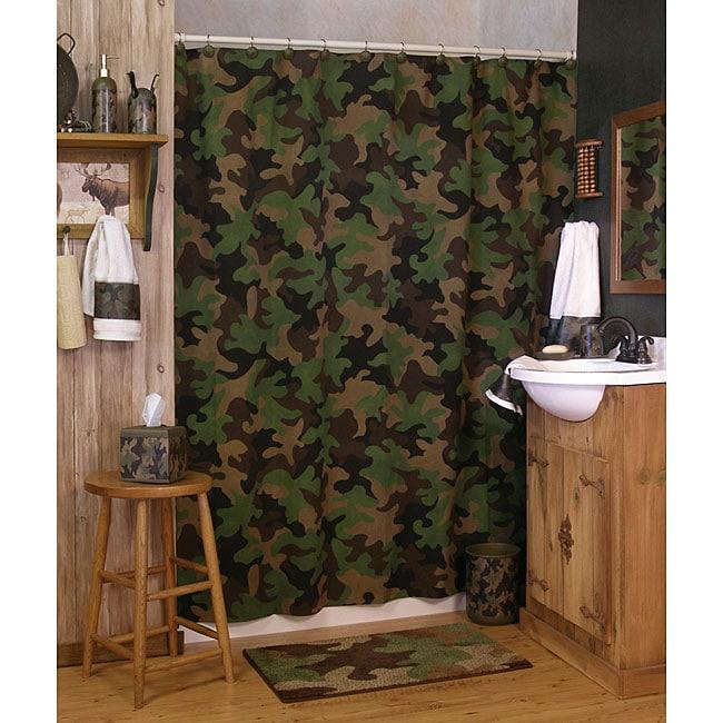 Camo bathroom set