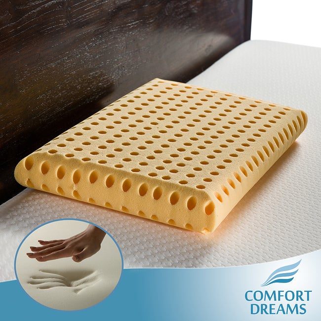 Comfort Dreams High Energy Crowned Low Profile Standard-size Memory Foam Pillow