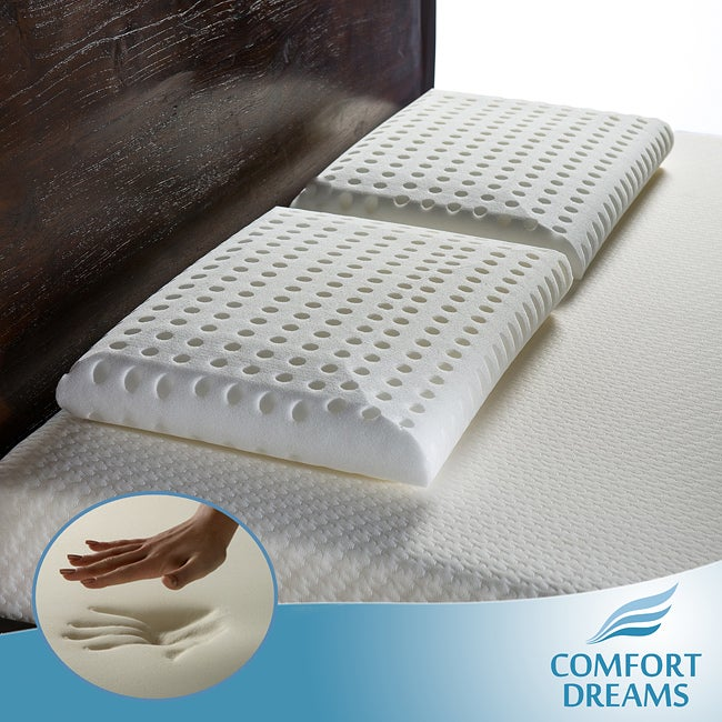 Comfort Dreams Super Soft Elite Feel Standard-size Memory Foam Pillows (Set of 2)