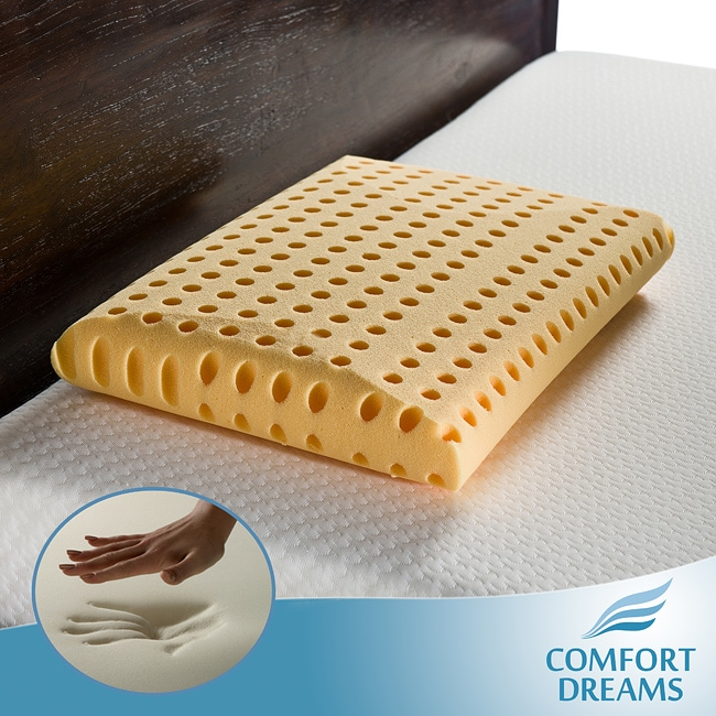 Comfort Dreams Crowned Classic High Energy Standard-size Memory Foam Pillow