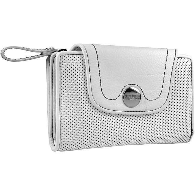 Kenneth Cole Reaction White Leather Womens Wallet