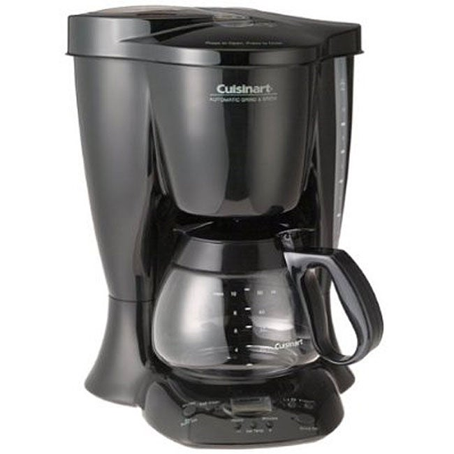 Cuisinart Coffee Maker With Grinder Not Working : Cuisinart DGB-300BK New Automatic Grind and Brew 10-cup Coffeemaker - 11883771 - Overstock.com ...