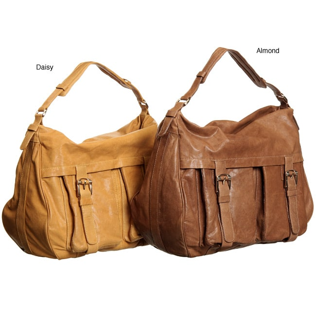Andrew Marc Naomi Leather Hobo Handbag