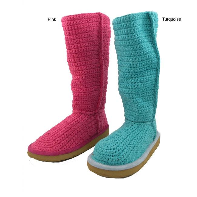 Livs Women's Knit Cotton Boots