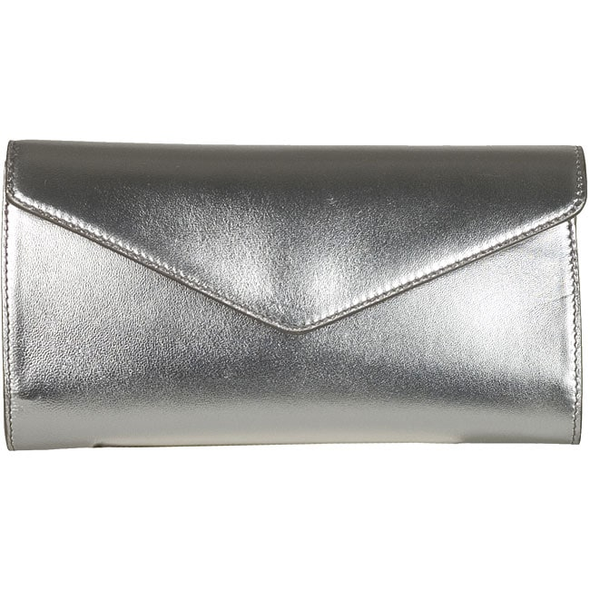 yves saint laurent satin y-mail clutch