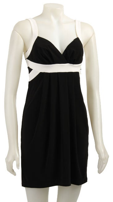 Essentials by A.B.S Women's Banded Empire Waist Dress