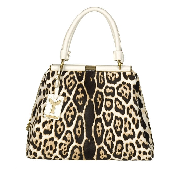 Yves Saint Laurent Majorelle Leopard Print Bag - 11889715 ...