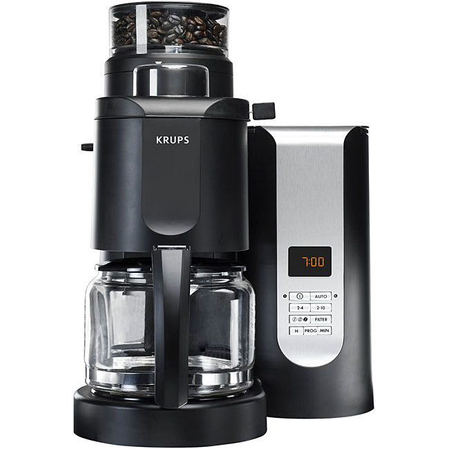 Krups KM7000 Grind-and-brew 10-cup Coffeemaker