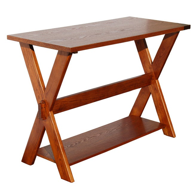 Simple Living Cross Sofa Table