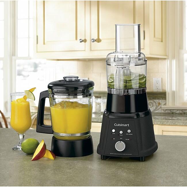 Cuisinart CB-600FPBW Duet Blender/ Food Processor