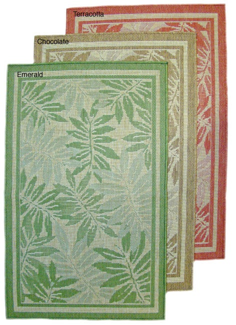 AT HOME by O Palm Island Indoor/ Outdoor Area Rug (7'10 x 11'2) at Sears.com