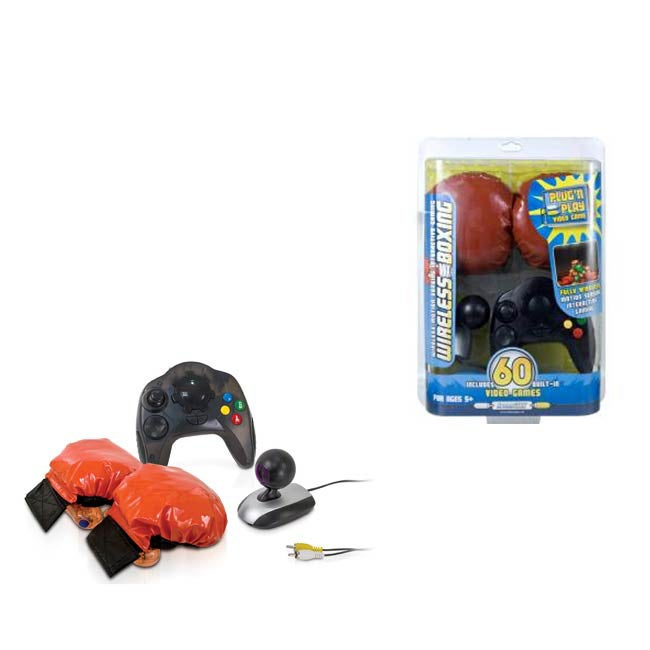 Plug N' Play - Wireless Boxing 60 Games