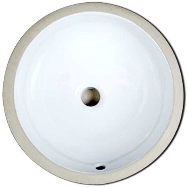 Spoleto Round Undermount Bathroom Sink Overstock Shopping Great Deals On Bathroom Sinks