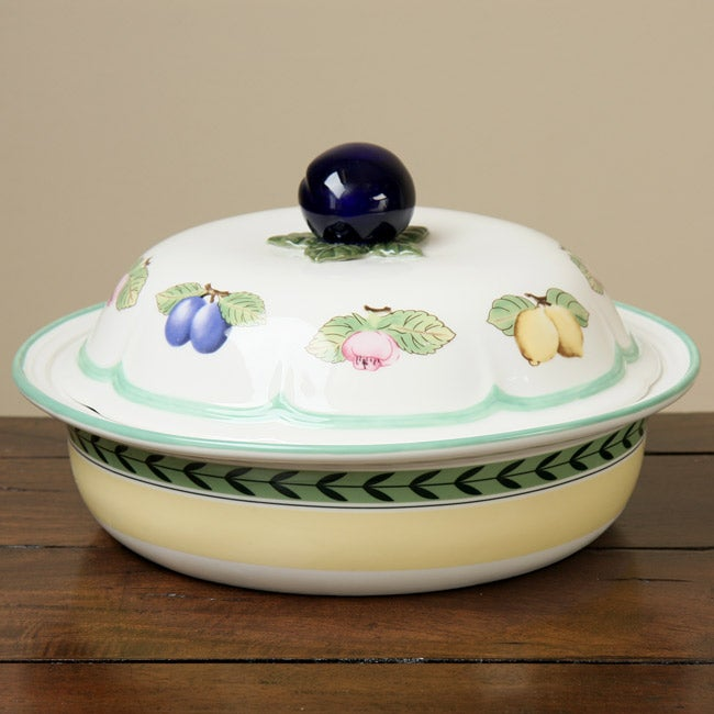 Villeroy & Boch French Garden 10-inch Covered Baking Dish