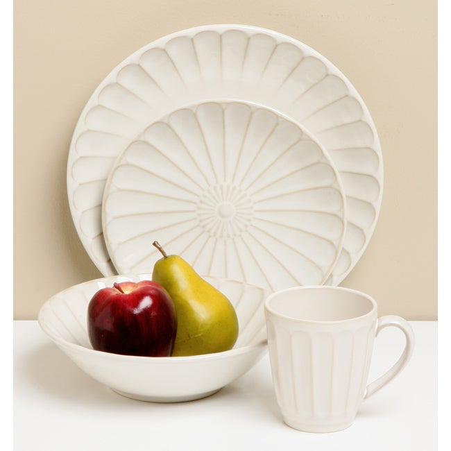 Sango Sundance White 16-piece Dinnerware Set