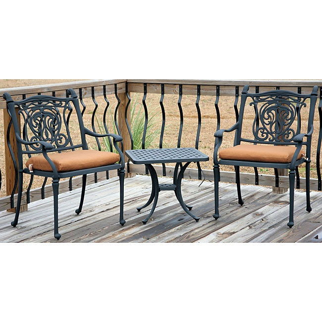 Tuscan All Welded 3 Piece Patio Furniture Set 11898962