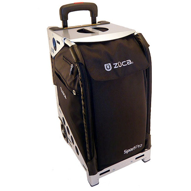 Zuca Sport Pro Rolling Carry On With Seat And Travel Cover