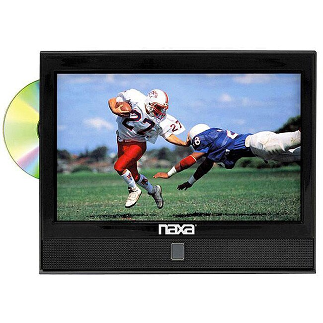 Naxa NX-550 13-inch 1080i LCD TV/ DVD Combo (Refurbished)