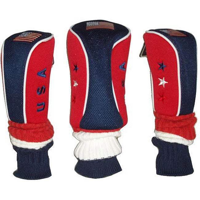 Bennington USA Golf Club Head Covers (Pack of 3)