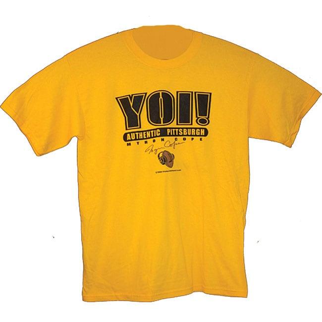 Myron Cope Men's 'YOI' T-shirt