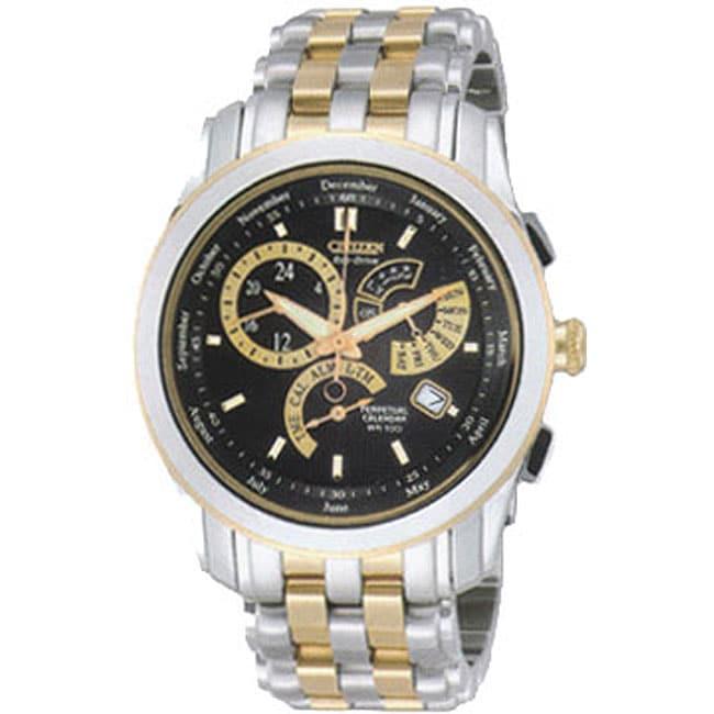 Citizen Calibre 8700 Eco-Drive Men's Two-tone Watch