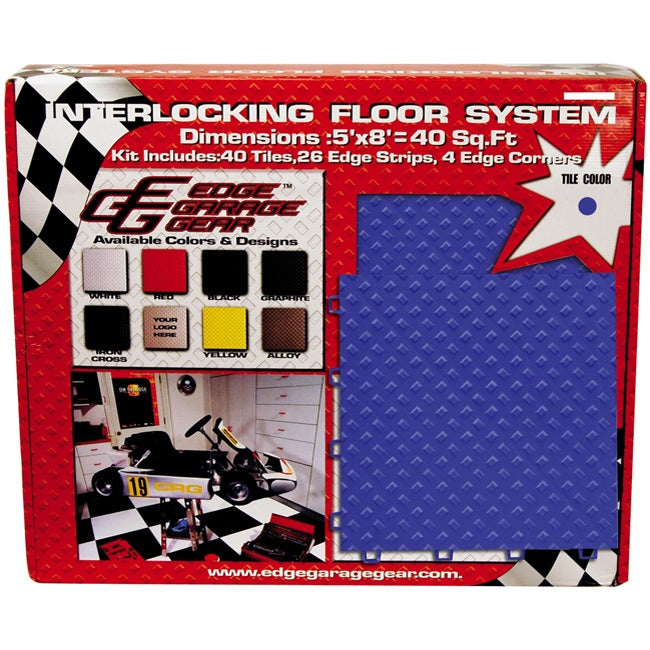Snap-together Colored Floor Tile