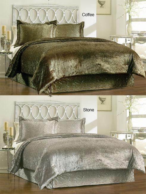 Renaissance 4 Piece King Size Comforter Set Overstock