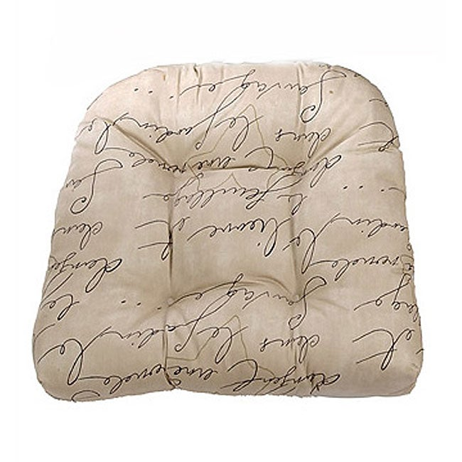 script indoor wicker chair cushion 11915435 shopping great deals on chair pads. Black Bedroom Furniture Sets. Home Design Ideas