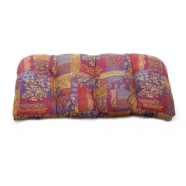 Nisha Indoor Wicker Settee Cushion
