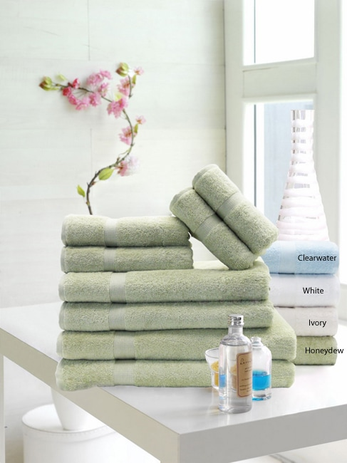 Stretchy Cotton/Spandex Hair Towels (Pack of 6)