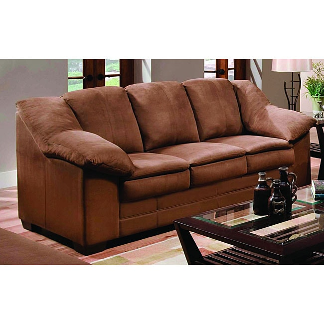 Simmons Jaguar Mocha Sofa