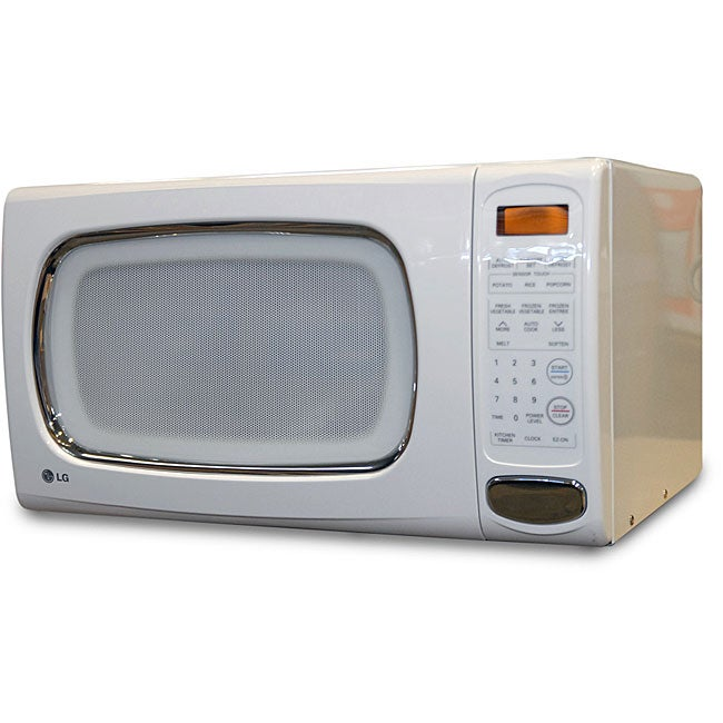 Countertop Microwave Lg : LG 1.2-cubic-foot White Countertop Microwave (Refurbished) - Overstock ...