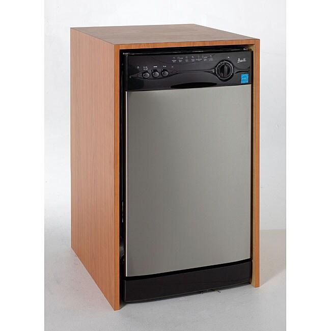 "18"" Dishwasher, Stainless Steel"
