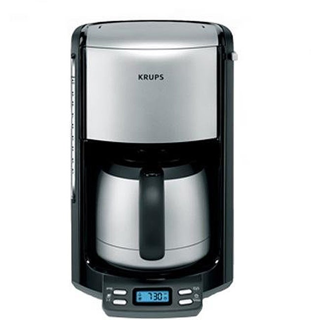 Krups Km1000 Coffee Maker Programmable 10 Cup : Krups FMF5-14 10-cup Programmable Coffee Machine - 11923215 - Overstock.com Shopping - Great ...
