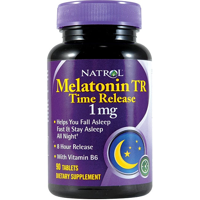 Health and Beauty by O Natrol Melatonin Timed-release Sleep Aid Pills (Pack of 5 90-count Bottles) at Sears.com