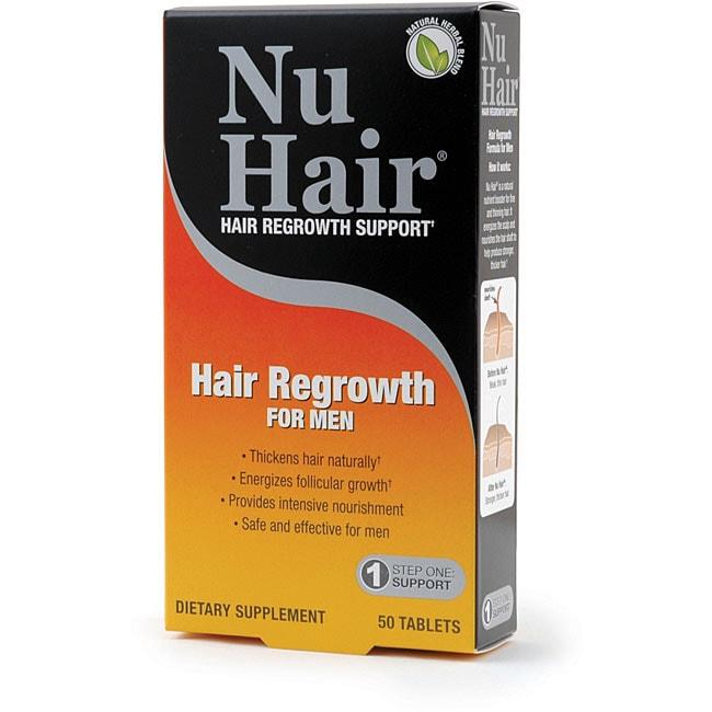 Natrol Nu Hair 50-count Men's Hair Regrowth Tablets (2-pack)