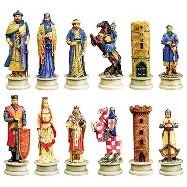 Crusades decorative chess set 11931820 shopping great deals on decorative - Ornamental chess sets ...