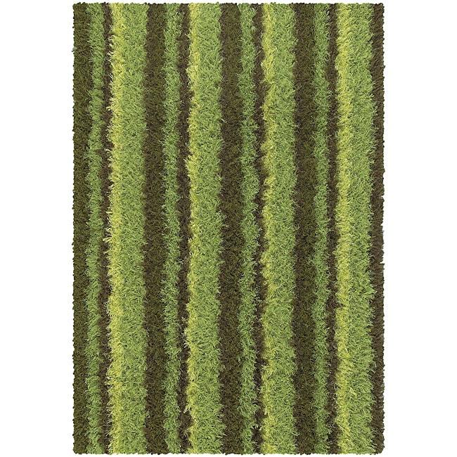 Plush Green Grass Rug (5'6 x 7'9)