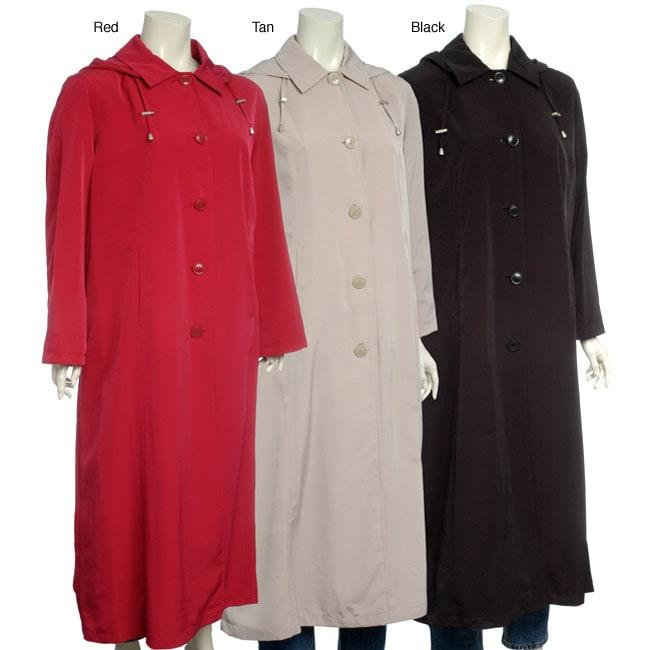 Regent women 39 s petite packable long travel coat 11933924 shopping top rated for Travel pants petite