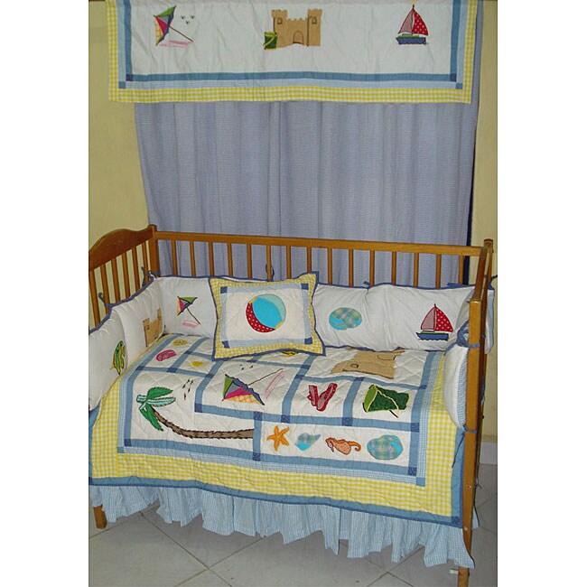Summer Fun 13-piece Cotton Crib Set