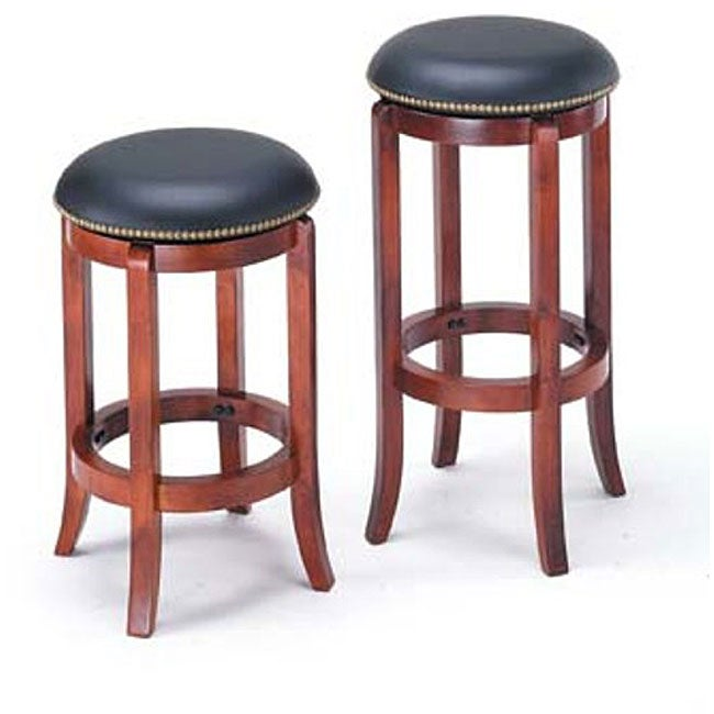 Chelsea Cherry Swivel Bar Stool