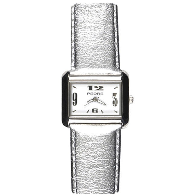 Pedre Women's Silvertone Watch