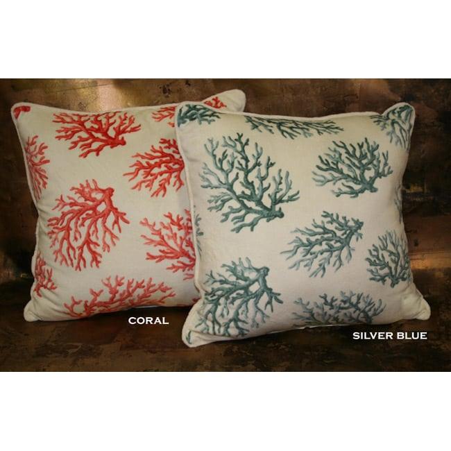 Printed Microplush Throw Pillow