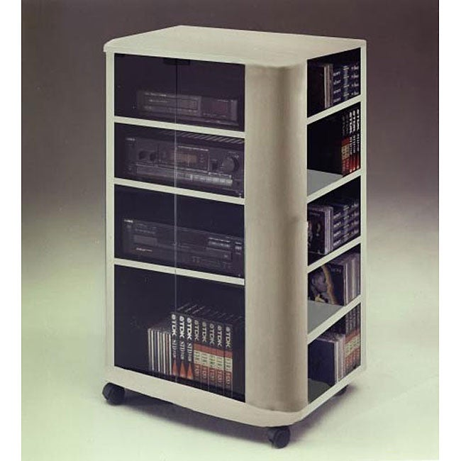 Audio Rack with Media Storage