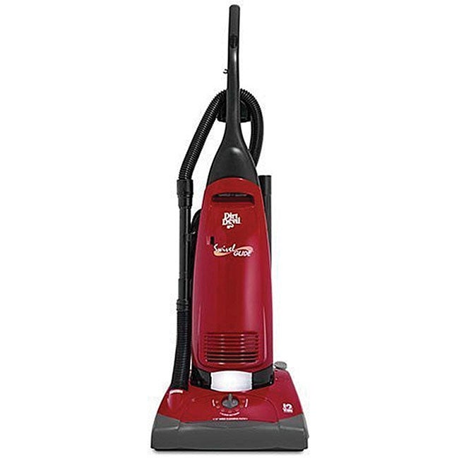 Dirt Devil 12 Amp Upright Red Swivel Glide Vacuum