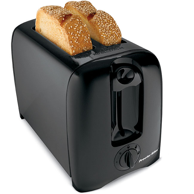 Proctor Silex 2-slice Black Toaster