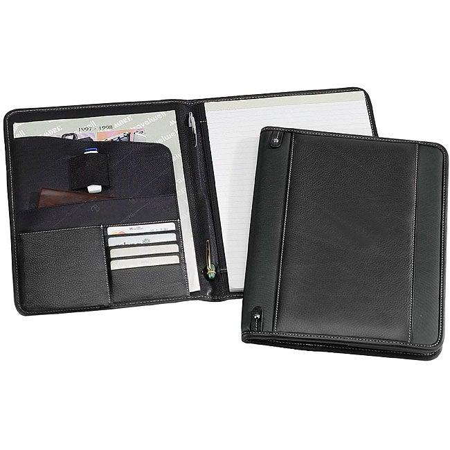 Biltmore Black Napa Leather Executive Padfolio
