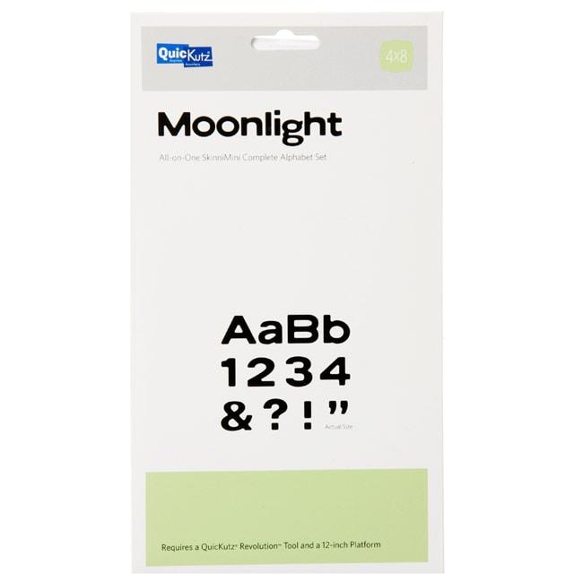 QuicKutz 'Moonlight' SkinniMini Complete 4x8 Alphabet Die Set