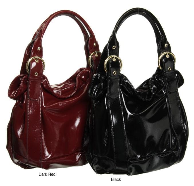 celine patent leather bag