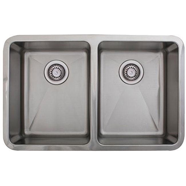 Ticor stainless steel 16 gauge undermount kitchen sink for Odd size kitchen sinks
